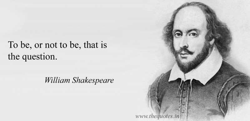 To be or not to be? Il verbo essere in inglese